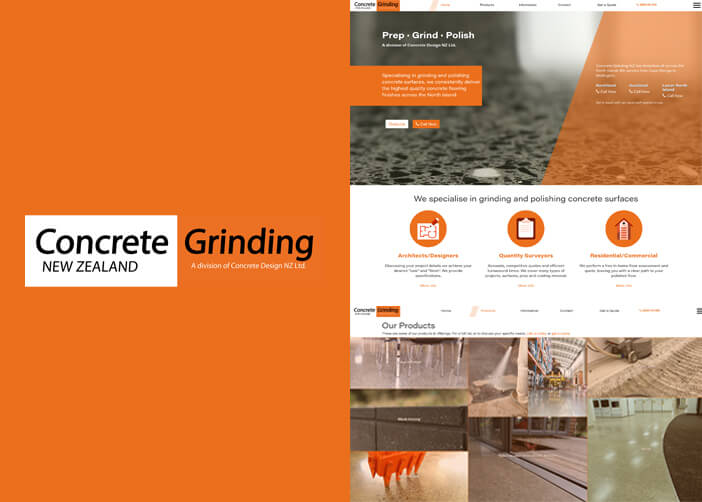 concrete grinding showcase